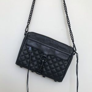 Rebecca Minkoff Black Mini Mac Bag